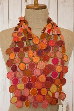 """""""Pois gourmande"""" small scarf - Sophie Digard crochet"""