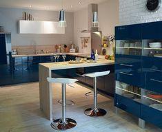 10 int rieurs avec des d cors aux couleurs vives cuisine - Castorama meuble de cuisine ...