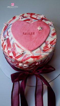 Vanilla molly cake/ Sugar art/ for my daughter