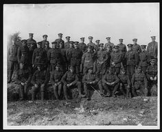 Northumberland Fusiliers | A row of soldiers are sitting on … | Flickr