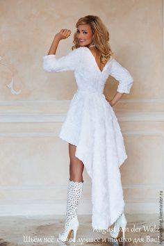 """Купить """"Жемчужная Роза"""" Свадебное платье - свадебное платье, платье невесты, белое платье"""