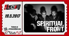 Италианските неофолк първенци Spiritual Front с концерт в София през май! Билетите са ограничено количество! Първите 30 билета са по 17 лв. След това билетите ще се продават на 22 лв през eTicketsMall. The Italian Neofolk top-rankers Spiritual Front with a show in Sofia in May! Tickets are limited quantity! #Билети #Tickets: https://www.eticketsmall.com/product_info.php?products_id=799
