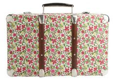 Liberty print suitcase #suitcase #Liberty #floral #print