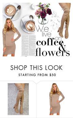 """Coffee Shop Style // www.amiclubwear.com"" by amiclubwear ❤ liked on Polyvore"