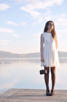 White dress from @vivianamori1