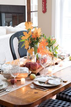 Simple Ideas for a Thanksgiving Table
