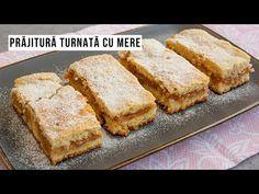 Rețeta simplă de prăjitură turnată cu mere rase și scorțișoară. O prăjitură de post cu blat pufos, foarte ieftină și rapidă. Cornbread, Banana Bread, Mai, Ethnic Recipes, Desserts, Youtube, Food, Cakes, Sweets