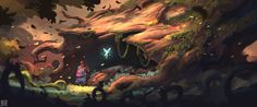 ArtStation - Week 35 of works Stylized environments, Hue Teo