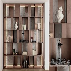 models: Other - decorative partition wall Living Room Partition Design, Room Partition Designs, Partition Ideas, Shelving Design, Bookshelf Design, Home Library Design, Home Room Design, Living Tv, Luxury Dining Tables