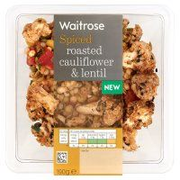 Waitrose cauliflower, red pepper & lentil @ 258 calories
