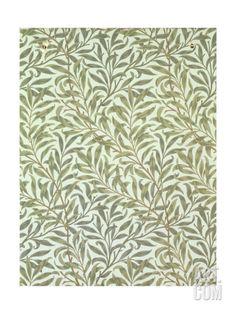 """Willow Bough"" Wallpaper Design, 1887 Giclee Print"