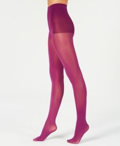 414ddb03d4417 Hanes X-Temp Opaque Tights - Plum Purple Opaque Tights, Colored Tights,  Black