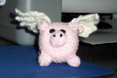 Pigs now fly *with tutorial* - CROCHET