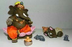 Hand made Ganesh