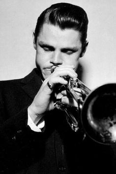 The iconic jazz musician Chet Baker. | Bazooka Joe