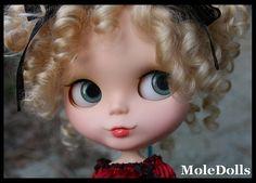 OOAK Custom Neo Blythe N.56 by MoleDolls by MoleDolls, via Flickr