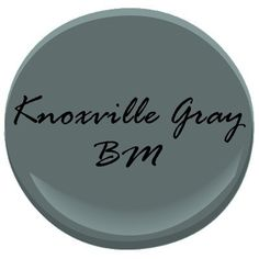 """*actual* Kitchen Cabinet Paint """"Knoxville Gray"""" Benjamin Moore I think a kitchen island in this color would be beautiful! New Kitchen Cabinets, Painting Kitchen Cabinets, Pantry Cabinets, Kitchen Island, Paint Colors For Home, House Colors, Girls Bedroom, Master Bedroom, Painted Boards"""