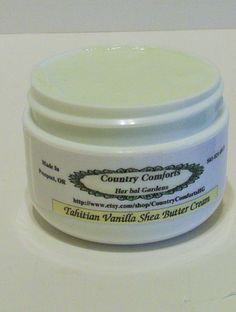 Whipped Shea Body Butter Cream  Tahitian by CountryComfortsHG