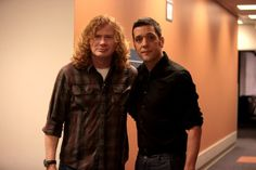 with Dave Mustaine...