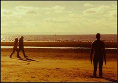 Late afternoon walk, Crosby beach