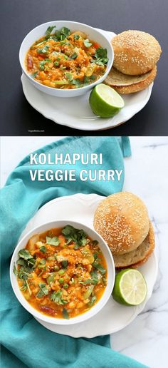 Veg Kolhapuri Recipe - Veggies in Sesame Coconut Tomato Kolhapuri Sauce. Use up the leftover veggies in this flavorful sauce. Anything goes. Add cooked beans for added protein.