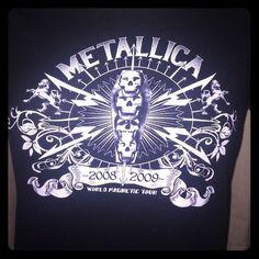 Tops - Metallica Concert Tee