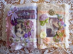 Marie's Tissu Che'rit Le Journal | I made this journal with … | Flickr