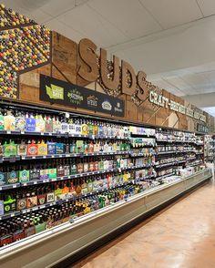 Gallery - Whole Foods Market, Roosevelt Square — messenger Food Retail, Retail Shop, Restaurant Hotel, Retail Design, Pos Design, Design Ideas, Store Layout, Milk Shop, Store Interiors