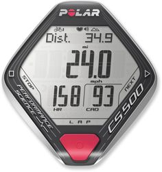 Polar Cs500+ Wireless Bike Computer With Heart Rate Monitor And Cadence Sensor