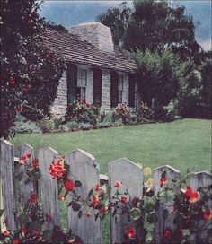 1951 home with picket fence
