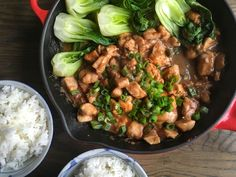 Spicy Ginger Chicken with Steamed Bok Choy  - Delish.com