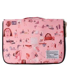 FABRICK FABRICK of (fabric) CHARLIE ROBERTS PC CASE 15inc (stationery) | pink Other