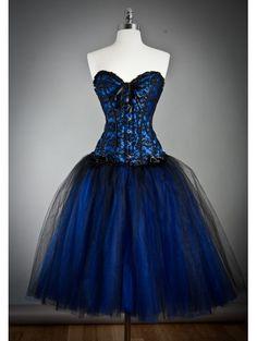 Emo Short Dress