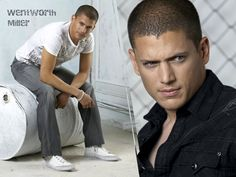 Wentworth Miller...  The fact that he is gay does not change the fact that he is still a beautiful beautiful man. His boyfriend is super lucky.