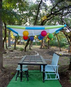 DIY Dollar Store Party Canopy