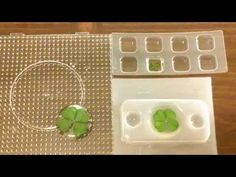 Resin Crafting:  Encasing Four-leaf Clovers - YouTube