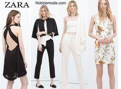 Abiti ZARA primavera estate 2015 moda donna