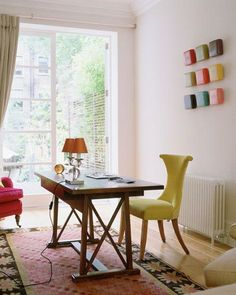 34 Fresh Ideas for Decorating a Home Office Area