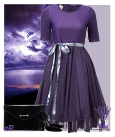 """Bez naslova #3100"" by gita016 ❤ liked on Polyvore featuring M2Malletier, Yves Saint Laurent and Joy Mangano"