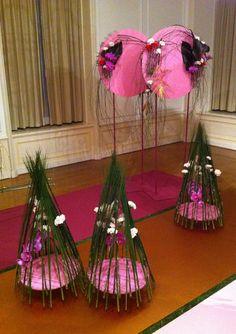'Circles and Ideas' Display - International Flower Show Japan 2014. www.markpampling.com