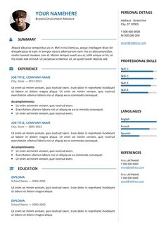 Free Traditional Resume Templates Esquilino Free Resume Template Microsoft Word  Resume  Cv