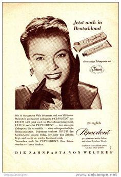 Original-Werbung/ Anzeige 1949 - 1/1-SEITE - PEPSODENT ZAHNPASTA - ca. 150 X 230 mm
