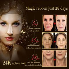 DR.RASHEL anti-aging cream, made in Dubai. 24 K gold collagen boosting creams with whitening and brightening effects.