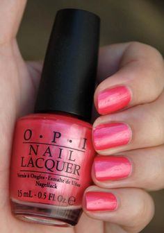 OPI- come to poppy.   Love the name.