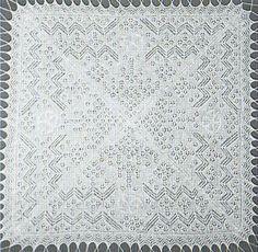 VCP100 Prince George of Cambridge vintage baby shawl knitting pattern PDF M...