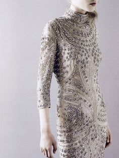 """""""An eternal glistening"""". Photographed by Ben Toms for Another magazine. I don't mean rhinestones embellished dress"""