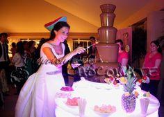 Fuentes de Chocolate La Muñoza de Caprichos de Chocolate
