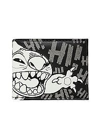 HOTTOPIC.COM - Disney Lilo & Stitch Black & White Stitch Bi-Fold Wallet