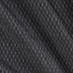 Lycra Blend Jersey Knit Checkered Charcoal from @fabricdotcom  This stretch polyester jersey knit fabric features a shiny textured checker pattern and has four way stretch- 50% across the grain and 50% vertical stretch. It is perfect for making form fitting knit dresses,  leggings, yoga pants and more! Remember to allow extra yardage for pattern matching.