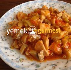 Mantarlı Tavuk Sote - http://www.yemekgurmesi.net/mantarli-tavuk-sote.html